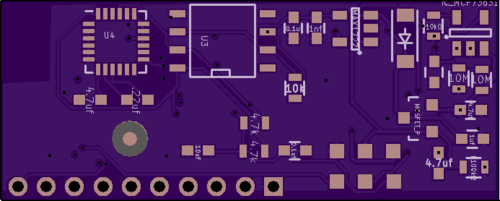 back view of PCB