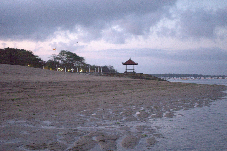 Beach after sunset, Bali